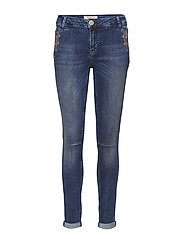 Etta Inca Jeans - BLUE DENIM