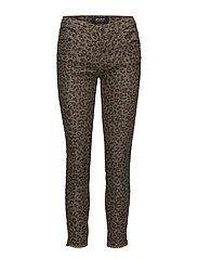 Sumner Leopard Jeans - LEOPARD PRINT