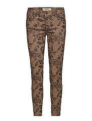 Victoria Glam Flower Pant - ASH ROSE