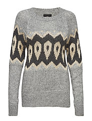 Mildred Knit - GREY MELANGE
