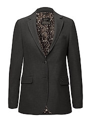 Mary Hayes Blazer - GREY MELANGE