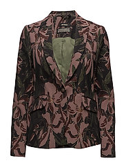 Blake Flower Blazer - ROSE FLOWER