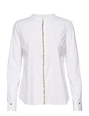 Maggie Shine Shirt - WHITE