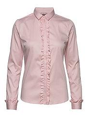 Tilda Flounce Shirt - SOFT ROSE
