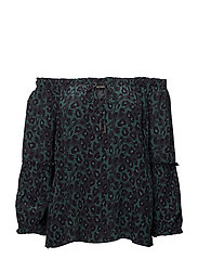 Havana Leo Blouse - DARK TEAL