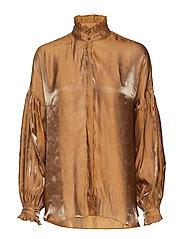 Maude Golden Shirt - GOLD