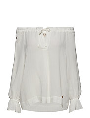Diana Stitch Blouse - OFFWHITE