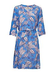 Meru Vita Dress - ULTRAMARINE PRINT
