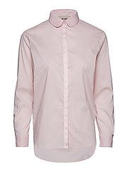 Clara Ribbon Shirt - SOFT ROSE