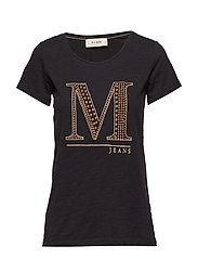 Riva Glam Tee - BLACK