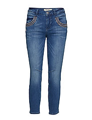 Naomi Muscat 7/8 Jeans - BLUE DENIM