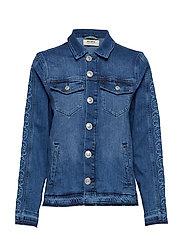 Arrie Free Jacket - BLUE DENIM
