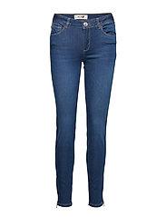 Victoria Sateen Jeans - BLUE DENIM