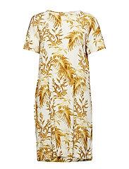Lori Cannes Dress - LEMON PRINT