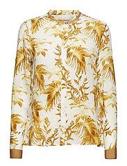 June Cannes Shirt - LEMON PRINT
