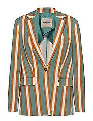 Cobb Stripe Blazer - GREEN BAY STRIPE