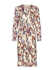 Ivy Beaux Dress - WILD PLUM FLOWER