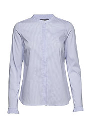 Mattie Check Shirt - LIGHT BLUE CHECK