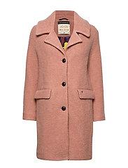 Manny Wool Coat - VINTAGE ROSE