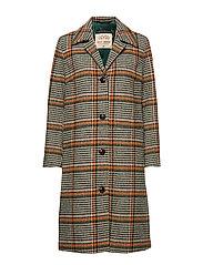 Mavi Wool Coat - FOREST NIGHT