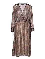 Chita Peacock Dress - PEACOCK PRINT