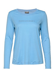 Passion Stud Tee LS - SILVER LAKE BLUE