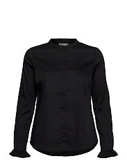 Mattie Sustainable Shirt - BLACK