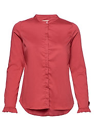 Mattie Sustainable Shirt - HOLLY BERRY