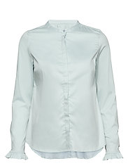 Mattie Sustainable Shirt - MINT HAZE