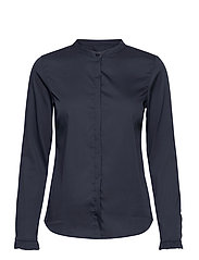Mattie Sustainable Shirt - NIGHT BLUE
