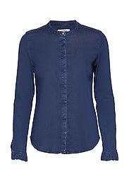 Mattie Denim Shirt - BLUE