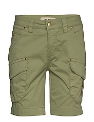 Cheryl Cargo Shorts - OIL GREEN