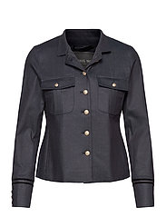 Selby Gallery Jacket - BLUE