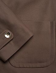 MOS MOSH - Amber Night Jacket - casual blazers - chocolate chip - 3