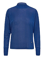 Cher LS Blouse - TRUE BLUE