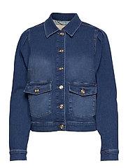 Aiden Puff Jacket - BLUE