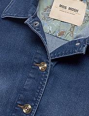 MOS MOSH - Aiden Puff Jacket - jeansjacken - blue - 2