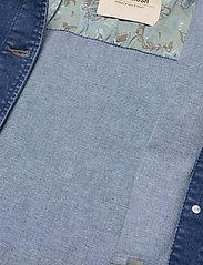 MOS MOSH - Aiden Puff Jacket - jeansjacken - blue - 3