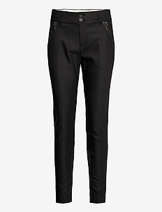 Milton Night Pant Sustainable - slim fit bukser - black