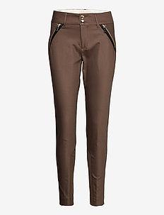 Milton Night Pant Sustainable - slim fit bukser - chocolate chip