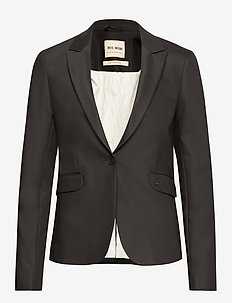 Blake Night Blazer Sustainable - matchende sæt - black