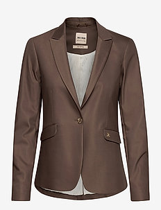 Blake Night Blazer Sustainable - suits & co-ords - chocolate chip