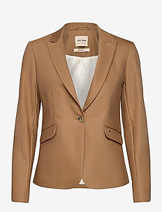Blake Night Blazer Sustainable - vardagskavajer - toasted cocount