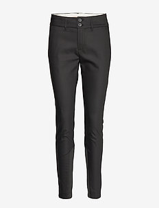 Blake Night Pant Sustainable - bukser med lige ben - black