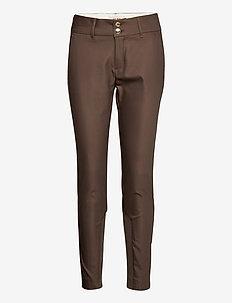 Blake Night Pant Sustainable - slim fit bukser - chocolate chip
