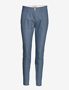 Blake Night Pant Sustainable - spodnie proste - indigo blue