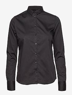Tilda Shirt - long-sleeved shirts - black