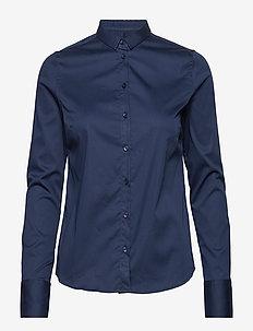 Tilda Shirt - long-sleeved shirts - navy