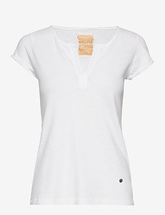 Troy Tee SS - t-shirts - white