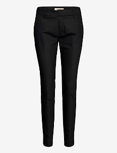 Abbey Night Pant Sustainable - stuprörsbyxor - black